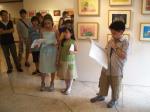 YAS kids leading theprogram