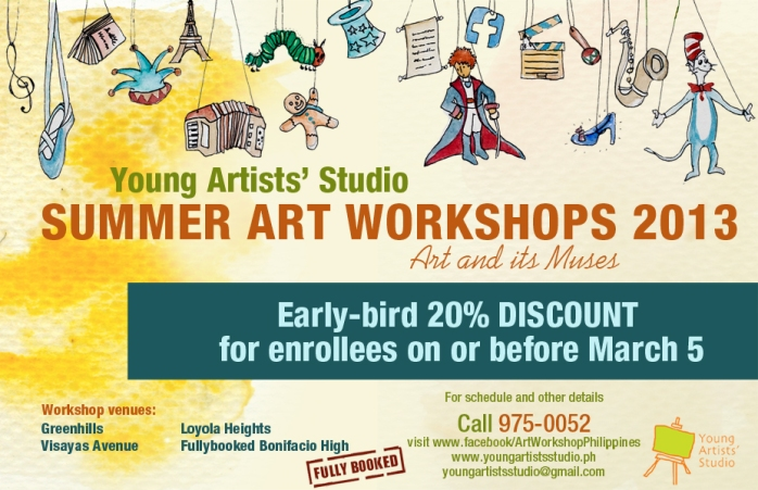 art workshops for all ages