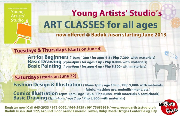 art classes pasig city