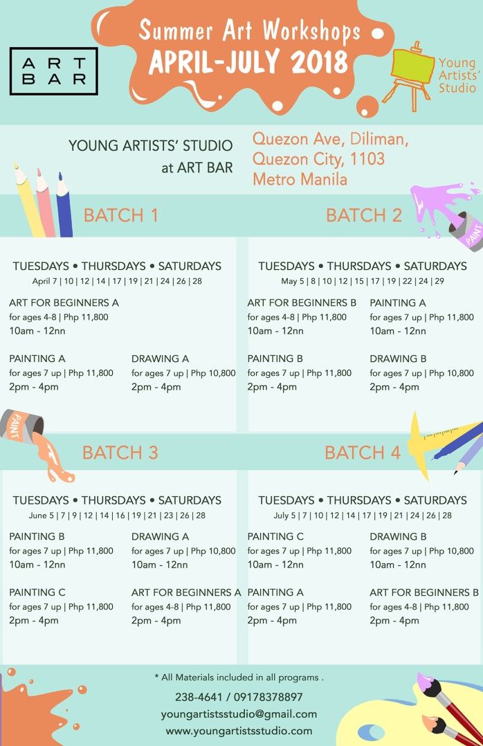 YAS Summer 2018_ART BAR QUEZON AVE