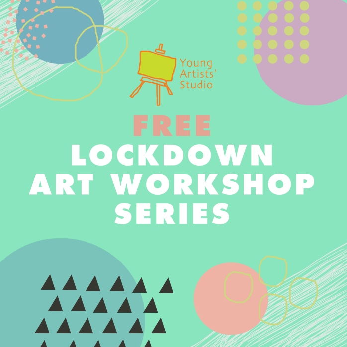 Lockdown Art Workshop Series_Poster