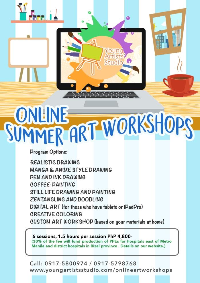 YAS_Online Summer Art Workshops