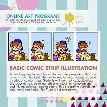 Online Art Programs_Basic Comic Strip