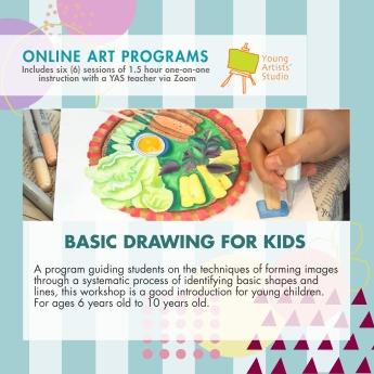 Online Art Programs_Basic Drawing