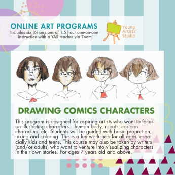 Online Art Programs_Comics Character Design