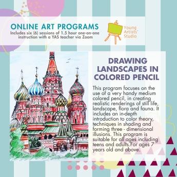 Online Art Programs_Drawing Landscape