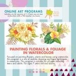 Online Art Programs_Painiting Florals