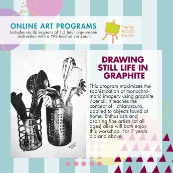 Online Art Programs_Still Life Graphite