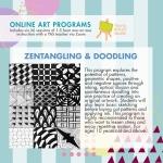 Online Art Programs_Zentangling and DoodleArt