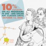 YAS Online Art WorkshopsPromo